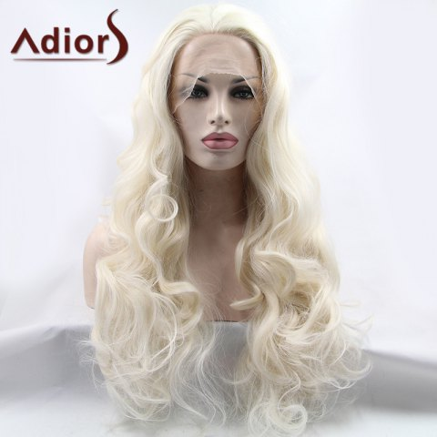 Best Adiors Hair Gorgeous Long Wavy Lace Front Synthetic Wig