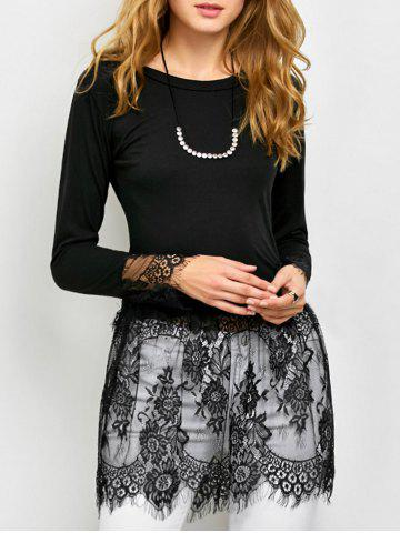 Shop Sheer Lace Insert Tee
