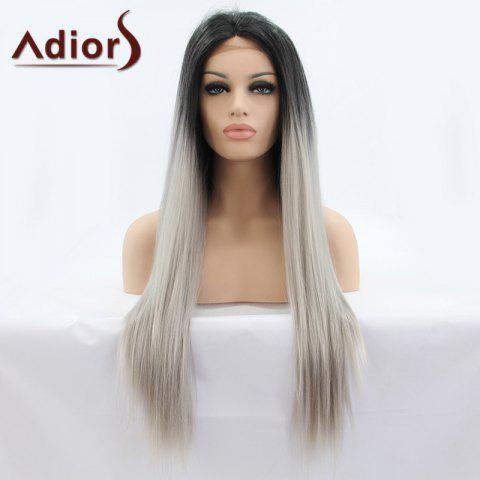 Unique Adiors Hair Long Straight Lace Front Synthetic Wig
