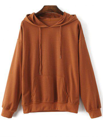 Outfit Bat-Wing Sleeve String Casual Hoodie