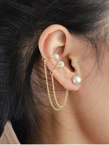 Cheap ONE PIECE Artificial Pearl Beads Earring