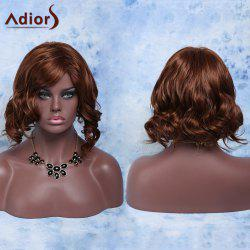 Short Side Parting Fluffy Curly High Temperature Fiber Wig