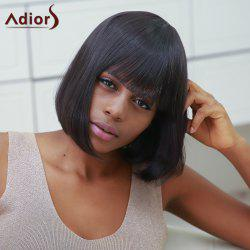 Stylish Synthetic Straight Full Bang Bob Wig For Women -