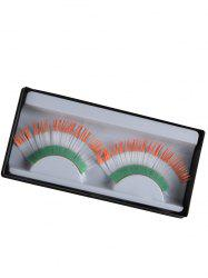 Pair of Ireland Flag False Eyelashes
