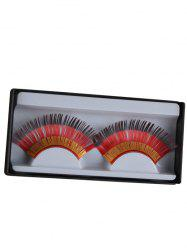 Pair of Germany Flag False Eyelashes