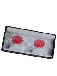 Pair of Japanese Flag False Eyelashes