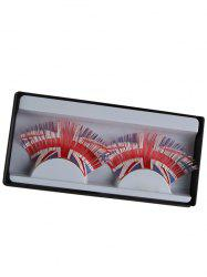 Pair of Union Flag False Eyelashes