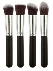 4 Pcs Foundation Brushes Set
