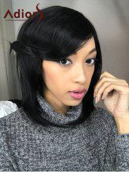 Adiors Medium Straight Side Parting Bob Synthetic Hair Wig