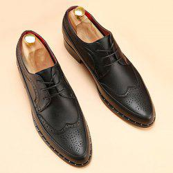 Point Toe Casual Shoes - BLACK