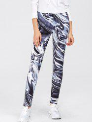 Gym Sports Print Leggings