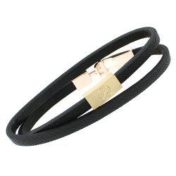 Vintage Multilayered Artificial Leather Bracelet