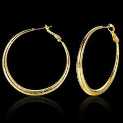 Circle Vintage Hoop Earrings