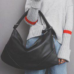 Casual Large PU Leather Shoulder Bag