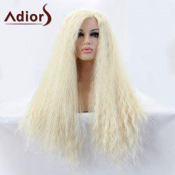 Adiors Hair Long Water Wavy Lace Front Synthetic Wig -