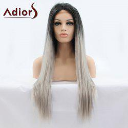 Adiors Hair Long Straight Lace Front Synthetic Wig -