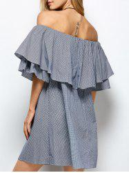 Ruffles Off The Shoulder Dress