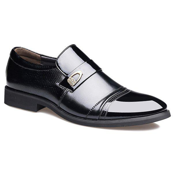 Sale Metal Square Toe Formal Shoes