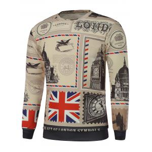 Big Ben Printed Crew Neck Sweatshirt