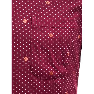 All Over Printed Pocket Shirt -
