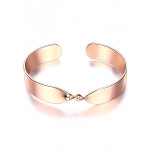 Twisted Infinite Cuff Bracelet