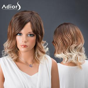 Adiors Hair Multi Color Medium Side Parting Wavy Synthetic Wig