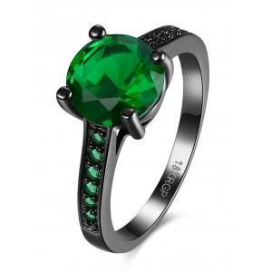 Artificial Gemstone Finger Ring