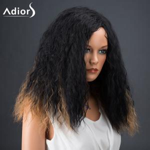 Adiors Hair Medium Afro Curly Colormix Synthetic Wig -