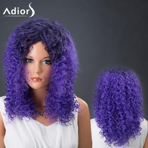 Adiors Hair Medium Colormix Afro Curly Synthetic Wig