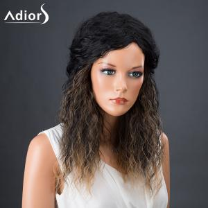 Adiors Hair Afro Curly Medium Colormix Synthetic Wig - COLORMIX