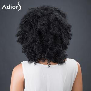Adiors Hair Fluffy Medium Afro Curly Faddish Synthetic Wig -