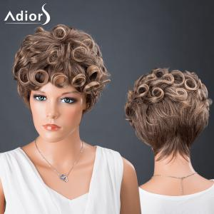 Adiors Hair Bouncy Colormix Synthetic Short Curly Wig