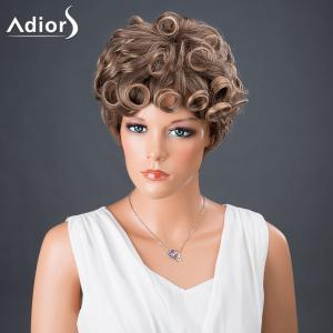 Adiors Hair Bouncy Colormix Synthetic Short Curly Wig - COLORMIX