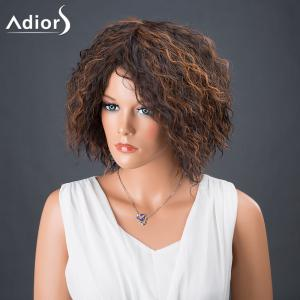 Adiors Hair Short Afro Curly Colormix Synthetic Wig - COLORMIX