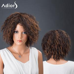 Adiors Hair Short Afro Curly Colormix Synthetic Wig