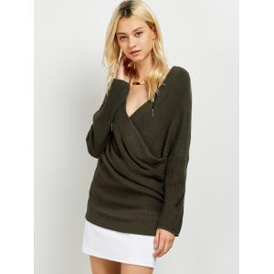 Surplice Sweater -