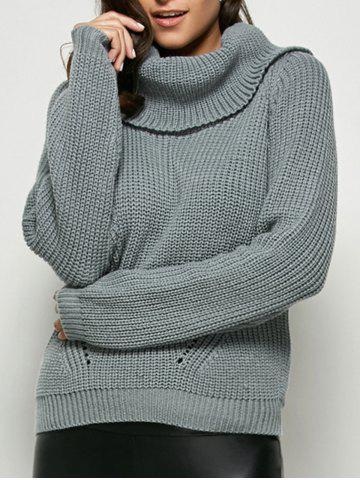 Shop Chunky Loose Turtleneck Sweater
