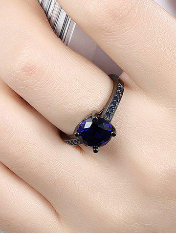 Shop Artificial Gemstone Finger Ring - 7 BLUE Mobile
