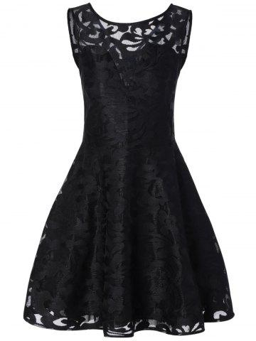 Latest Lace Cocktail Formal Skater Short Dress