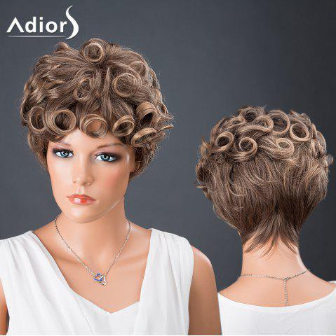 Outfit Adiors Hair Bouncy Colormix Synthetic Short Curly Wig COLORMIX