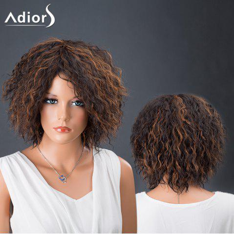 Outfits Adiors Hair Short Afro Curly Colormix Synthetic Wig COLORMIX