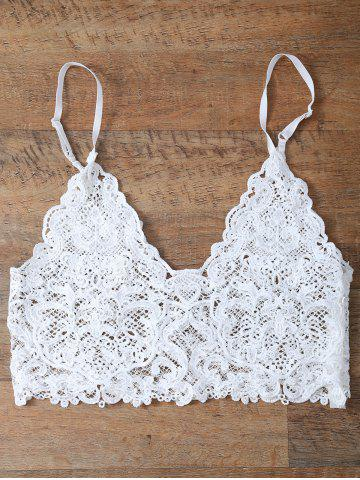Outfits Sheer Lace Cami Top