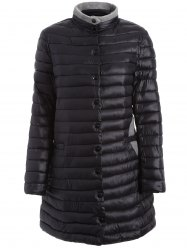 Two Tone Plus Size Winter Padded Coat Jacket