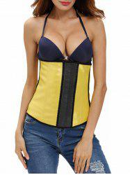 Color Block Skinny Waist Training Corset