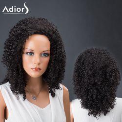 Adiors Hair Medium Afro Curly Faddish Synthetic Wig
