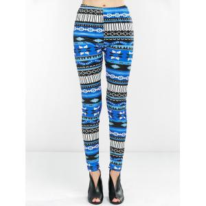Skinny Printed High Waist Leggings
