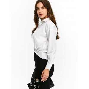High Low Pullover Chiffon Blouse -