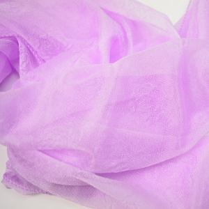 Lightweight Roses Jacquard Doux Fils Shawl Wrap Scarf - Violet Clair