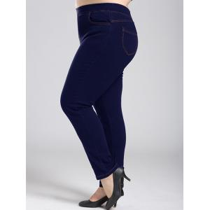 Plus Size Fleece Stretchy Skinny Pants -