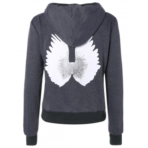 Wing Graphic Hooded Jacket -